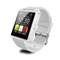 Wholesale Bluetooth Smartwatch U8 U Watch Smart Watch Wrist Watches for iPhone S S Samsung S4 S5 Note Note HTC Android Phone Smartphone