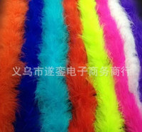 craft supplies - Feather Strip Marabou Feather Boa Party Supplies Feather Crafts Feather Wedding Decoration Party Supplies Accessories Decor Event Gift DHL