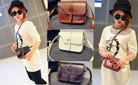 acrylic splits - Cheap Women Leather Tote Handbag Fashion Summer Candy Color Shoulder Bags Messenge Bag For Women Colors Rivet Handbag Bag
