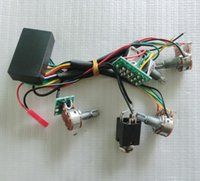 amplified band - Band guitar EQ guitar Preamp Circuit for Active Passtive guitar Pickup Amplifying circuit with Push pull pot
