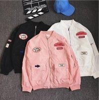 aviator patterns - 2016 Autumn Brand Men Aviator Jacket Baseball Coat Male Bomber Jacket Casual Overcoat M XL windbreaker Manteau Homme OVERSIZE