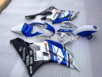 Wholesale YZF R6 Fairing YZFR6 Fairing Kits Blue White New Fairing Details LXMT