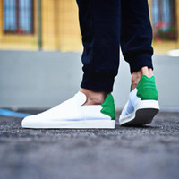 beach collection - Pharrell Williams X Elastic Lace Up Slip On White Green Mulit Pink Beach Collection Men Women Superstar Casual Shoes Originals