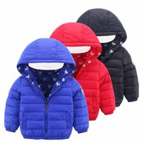 baby shorts warmer - Boys Girls Winter Jackets Coats Hooded Fashion Warm Children Outwear Long Sleeve Thick Cotton Padded Jacket for Kids Baby Boy Girl Clothes