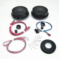 Wholesale OEM Kit MK5 VW Jetta Rear Sackbut Tweeter Back Door Rear Door Speaker Audio KD KD A
