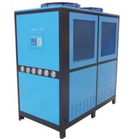 air chiller system - 25HP industrial air cooled chiller CUM AC Industrial on air cooled chiller with Scroll Copeland Compressor air cooled system for plastic