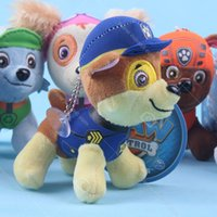 Wholesale 2016 Paw Of Patrol Plush Toys cm Skye Marshall Chase Figure Zuma Rocky Rubble Kids Toys Gifts Stuffed Dog Cute Animals Toys