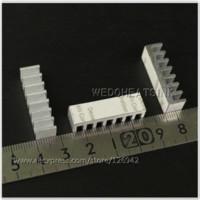 aluminium heatsinks - mm DIY Extruded Epoxy Attach On Heat Sink With Thermal Tape Aluminium Heatsinks Cooling For DIP