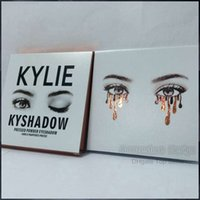 Wholesale 2016 New Kylie Cosmetics Bronze Eyeshadow KyShadow Palette Colors eyeshadow DHL