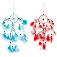 Wholesale Handmade Dream Catcher With Feather Hanging Decoration Ornament Craft Present Y102