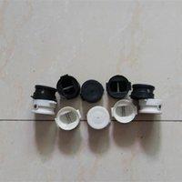 Wholesale surfboard leash plug accessories size mm Surfboard plastic White black color leash legrope plugs