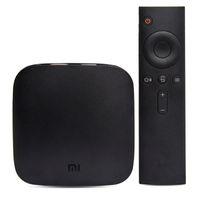 Wholesale 100 Original XIAOMI TV BOX Andriod Quad Core K Media Player S905 Bit BT4 HDMI Dual band Wi Fi Xiao Mi Box