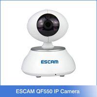 alarm color camera - ESCAM Secure egg QF550 IP Camera security alarm P Cctv Webcam P2P Wifi control IR LED Night Vision Color White