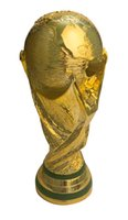 award cup - 2014 Resin Football World Cup Trophy cm kg Model Full Size Golden Champions Trophies and Award Cups Soccer Fans Souvenirs