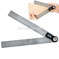 Wholesale mm stainless steel digital protractor degree goniometer angle finder meter digital angle ruler goniometer gauge