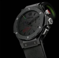 automatic motion - Luxury Brand automatic mechanical movement Deluxe multi function luxury automatic men s Bang wristwatch sweeping motion watches black rubber