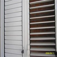 aluminum shutter window - Factory price exquisite aluminum glass window shutters from China supplier BYC160403