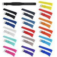 16 couleurs de remplacement montre Smart Watch Band pour Samsung Galaxy S2 engrenage R720 R730 en caoutchouc de silicone Wristband Bracelet VS Fitbit apple strap