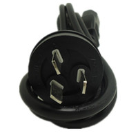 ac cord wiring - AU PLUG cm mm square AC power cord wire cable for computer