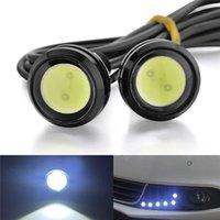 Wholesale 12V Eagle Eye Lamp White Led Light Bulbs Waterproof For daytime running lights DRL Car Car Motor Backup Light Fog Light