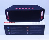 Wholesale S204 MINI Bluetooth Speaker TF USB FM Wireless Portable Music Sound Box Subwoofer Loudspeakers with Mic