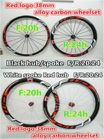 bicycles made in china - FFWD Red decals mm carbon alloy wheels Made in China road bicycle wheelset K weave mm width A271 hub