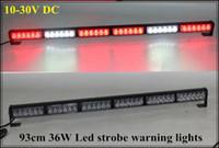 ambulance emergency lights - 93cm V DC high intensity W Led strobe lights Led emergency light bar police ambulance fire truck warning lightbar waterproof