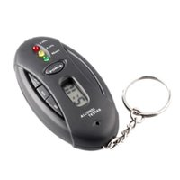 alcohol torch - Mini Digital Breath Alcohol Tester Analyzer Breathalyzer Detector LCD Torch function and Timer