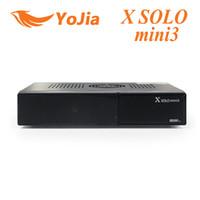 Wholesale 10pcs X SOLO MINI3 MHz Dual DMIPS HD P Satellite Receiver GB Serial Flash GB DDR3 with DVB S2 DVB T2 C X solo mini order lt no t