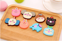 Wholesale Cute cartoon animal Fridge Magnet Home Improvement Refrigerator Kids Toys Souvenir Early Learning Wall Sticker
