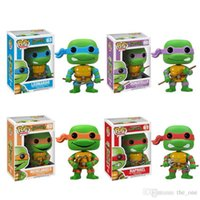 big don - Hot Funko POP boys Teenage Mutant Ninja Turtles TMNT Children gifts Mikey Don Leo Raph cm Cute Vinyl Figure Toys