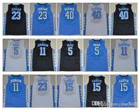 Wholesale 2016 High School Vince Carter Marcus Paige Harrison Barnes Brice Johnson College NCAA Jersey size S XXXL