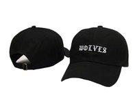 Los sombreros de béisbol del casquillo de los lobos de Kanye West de la manera 2016 Los sombreros del Snapback para los hombres de las mujeres se divierten el sombrero del sombrero de la marca de fábrica del strapback del hip-hop gorra barato de calidad superior