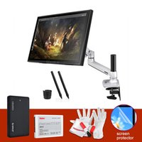 Wholesale Parblo GT19 as UGEE B quot LCD HD Monitor Art Graphic Drawing Tablet w Pens Desk Mount Stand Screen Protector GB SSD