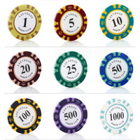 abs club - Poker Chips g Clay Iron ABS Colors Crown Casino Chips Texas Hold em Poker Poker Chips Club