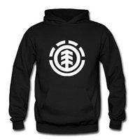 Cheap 2016 Winter Men's Skateboard Element Hoodies Men Hip Hop Sweatshirts Man Fleece Hoody Pullover Sportswear Clothing