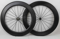 Wholesale Dimple golf Surface wheels rim depth mm Clincher c carbon fiber road bike wheels carbon bicycle Wheelset basalt brake surface