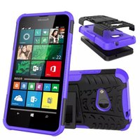 ballistic armor - For Microsoft Noika lumia Case Ballistic ARMOR Wave Hybrid Durable Soft Silicone Hard PC Case ShockProof Covers for Noika