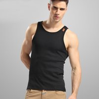 Wholesale H0173 The new summer Rib Outdoor sports running Vest Mens Sports Aerobics Leisure fashion