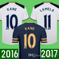 Wholesale Thai quality TottenhamIzers Men s football shirt ALLI ERIKSEN Kane camiseta de foot Soccer Jersey Fash Shipping