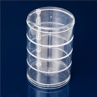 Wholesale Acrylic cosmetic Rotate Storage Box Dresser Storage Box Jewelry Box Multifunctional Cosmetic Organizer