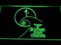 Wholesale g135 Nightmare Before Christmas Jack LED Neon Sign with On Off Switch Colors to choose Cheap light cream