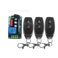 Wholesale Free Shippping AC220V CH A Remote Control Light Switch Relay Output Radio Receiver Module and Transmitter
