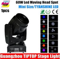 Led Spider Moving Head light angle prism - TIPTOP TP L6Q2 W Led Moving Head Light Color Wheel Gobo Wheel Facet Prism Rotation Electronic Zoom Degree Beam Angle