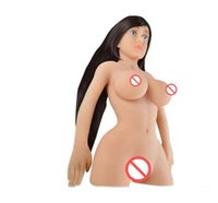 Wholesale Sex Girl Dolls For Men - Good quality real life size silicone sex dolls for men adult male vagina sex toys oral sex doll girl skeleton silicone love doll