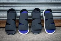 Wholesale Y sandals new summer Y3 QASA SANDAL top quality Y slippers mens comfortable SANDAL size
