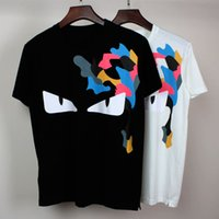 Wholesale 2016 summer new style t shirt Unisex Women Men Little monsters print men s tshirt homme T shirt mens brand tee shirt