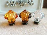 Wholesale The mushroom factory crystal flower type acrylic plexiglass alloy hook handle custom handmade soap Zi