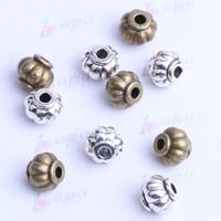 antique lanterns - mini lantern Spacer bead charm mm antique silver bronze Zinc Alloy for DIY pendant Jewelry Making Accessories