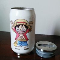 Wholesale New Anime Poke Pikachu Kawayi Stainless Steel Thermo cups Cartoon Vacuum Flask Water Bottle Creative Cups for Christmas